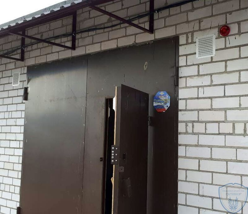 Охранная сигнализация гаража в Перми